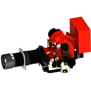 Gas /Light oil Modulation Monobloc Burner